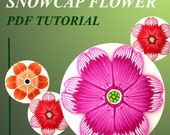 PDF Tutorial - How to creat Snowcap flower cane