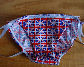 Union Jack Bikini panites