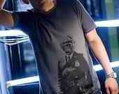 Gorilla Cop Asphalt Men's T-shirt