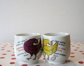 French Egg Cup - Set of 2
