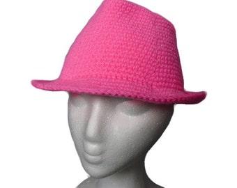 Crochet Fedora PATTERN
