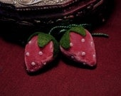 Old Rose Strawberry Charm