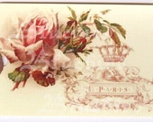 Gift Tags - Vintage Style -  Pink - Parisian Rose Tags