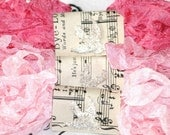Seam Binding  - 18 Yards -  SHABBY PINK CHRISTMAS -  Light Pink Ribbon -  Medium - Dark  -  Vintage Style Ribbon - Crinkled , Bluebird Lane