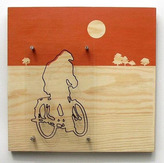 red bikeman