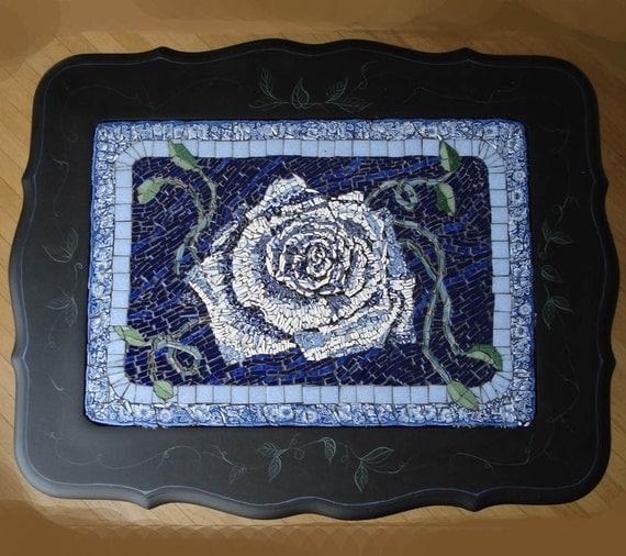 Mosaic Rose China table