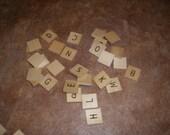 45 Scrabble Tiles