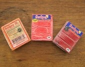 3 Polymer Clay Blocks - Sculpey Brand, Sweet Potato, Red Hot Red, and Red
