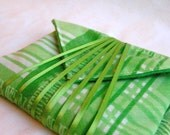 wrapping cloth - reusable vintage fabric wrap - small size