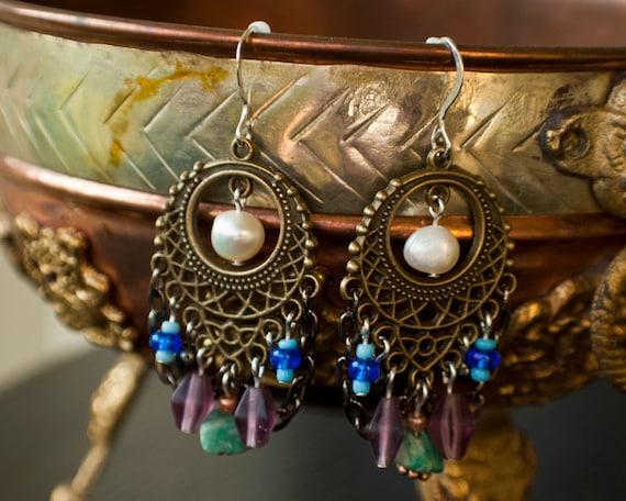 Gypsy Pearl Steamy.Earrings