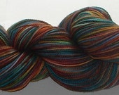 Handpainted Superwash Merino Yarn--Mosaic Colourway Fall Leaves