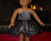 Dazzling Prom Dress for the American Girl or other 18 Inch Dolls
