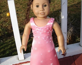 Pretty in Pink Gown for the American Girl