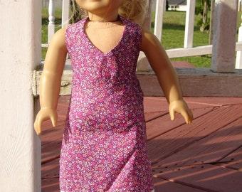 Halter Dress for the American Girl