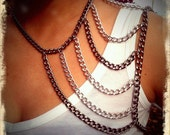 Madison Chain Shoulder Harness Necklace