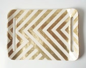 Gold Zag Tray Pre Order by upintheairsomewhere