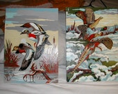 Two Bird Paint by Number Pictures