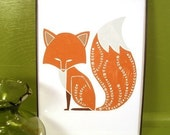 Foxy Fox - 5x7 Art Print - Unframed