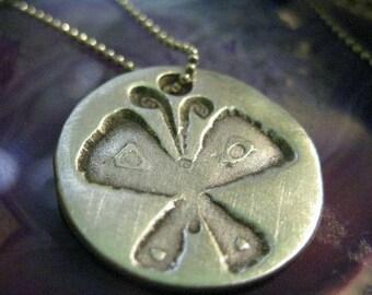 Fine Silver 3/4 Inch Butterfly Charm