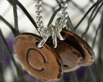 Personalized Copper Charm