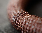 copper fiber necklace