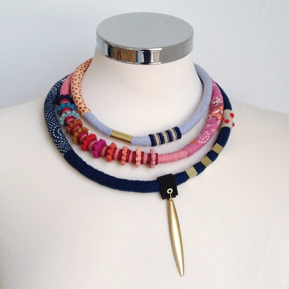 statement delicate necklace