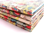 Comic covered notebook