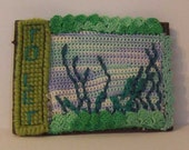 To Let - Fiber ACEO Picture - Empty Fish Tank - PIF