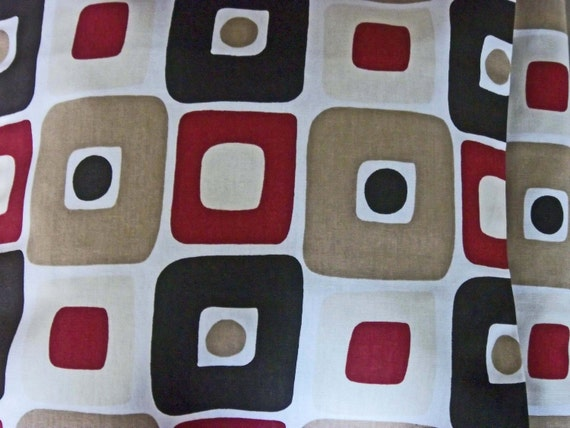 Two Barn Red Black White Tan Ecru Decorative Pillows
