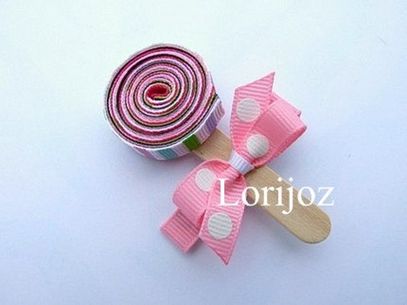 Lollipop Hair Clip