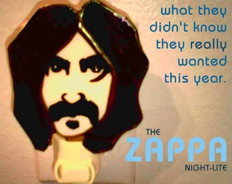 Stained Glass ZAPPA Night Light by Glass Action