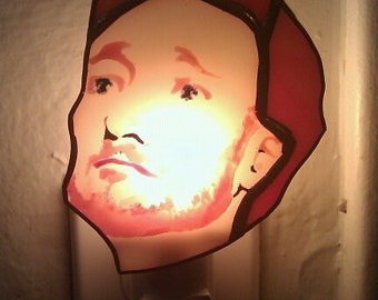 Conan O'Brien Night Light by Glass Action