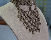 Chain Mail chainmaille Antique bib - necklace