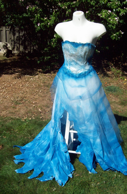 Custom Corpse Bride Wedding Dress Costume By Faeryspellcreations
