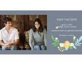 Garden Wedding e-Save the Date