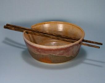 Desert Sunset Chopsticks Bowl, 12 Ounces