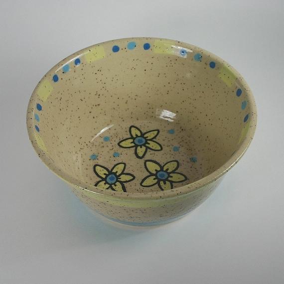 Sunny Flower Bowl, 28 Ounces, 60% Off Sale