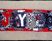 Rock Star Dream Pillow...Appliqued and personalized