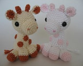 Crocheted Baby Giraffe PDF Pattern