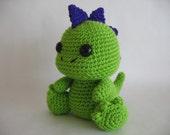Crochet Dinosaur PDF Pattern