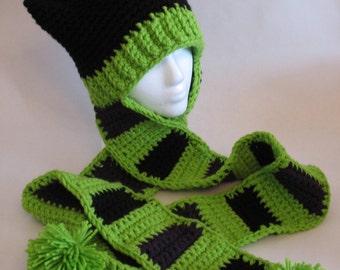 Crochet Kitty Scoodie PDF Pattern