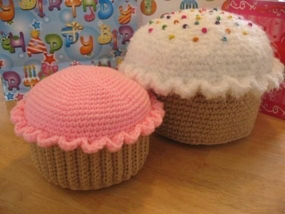 PDF Cupcake Pillow Pattern