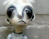 Loopy Goth Art Doll Zombie Bob