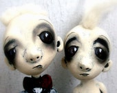 Zombie Love Loopy Art Doll