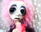 Loopy OOAK Goth Art Doll Jillian Landrieu Orphan of New Orleans Past