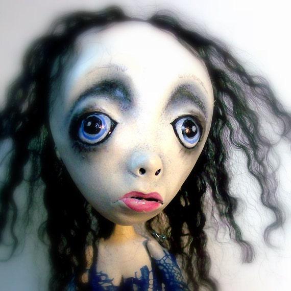Loopy OOAK Goth Art Doll Sissy