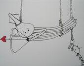Cupid Squid Valentine