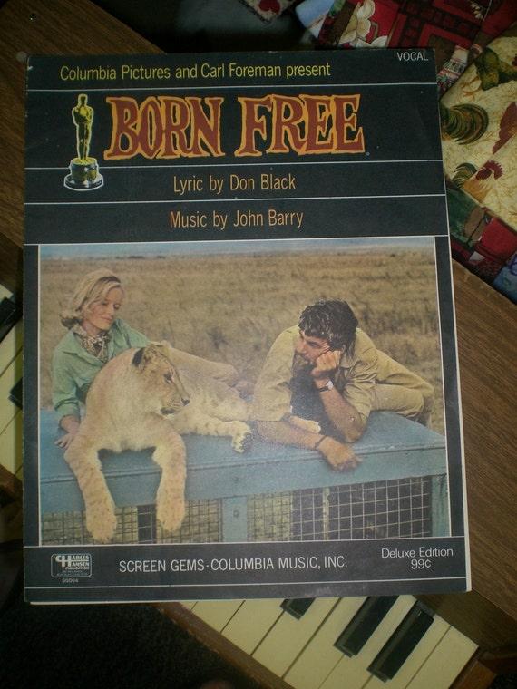 Born Free Sheet Music