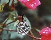 Sterling Pentagram\/Pentacle Pendant