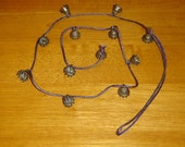 Bells on a thick, sturdy chord - LOTS OF USES